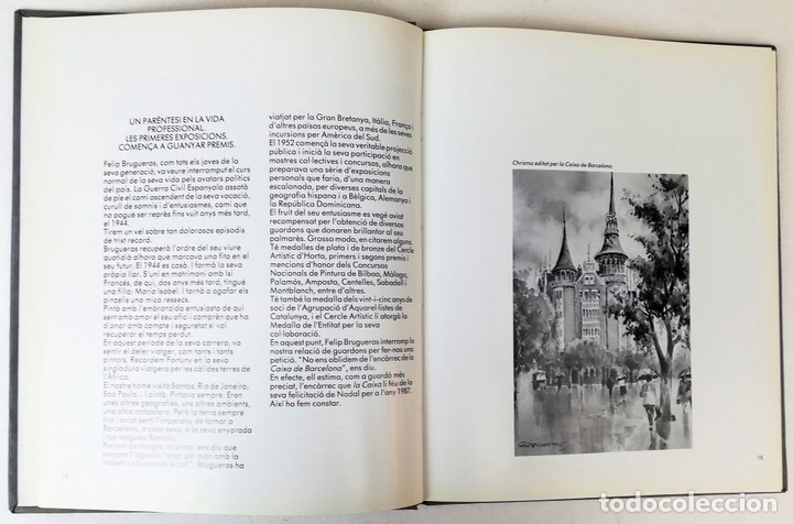 Libros de segunda mano: ANTOLOGÍA FELIP BRUGUERAS. LINA FONT. EDITORIAL M.C. BALLESTER. BARCELONA 1988 - Foto 4 - 153219670