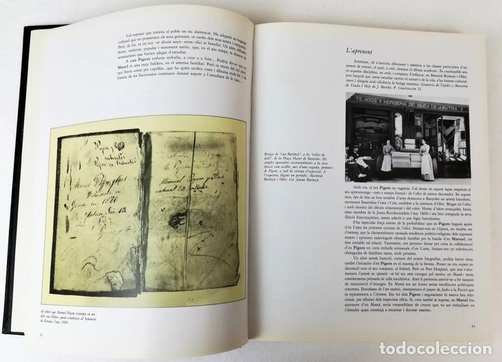 Libros de segunda mano: EL PINTOR PIGEM Y SU ÉPOCA EN LA COMARCA DE BAÑOLAS. VV. AA. EDIT. CARLES VALLÈS. BARCELONA 1987 - Foto 4 - 153309054