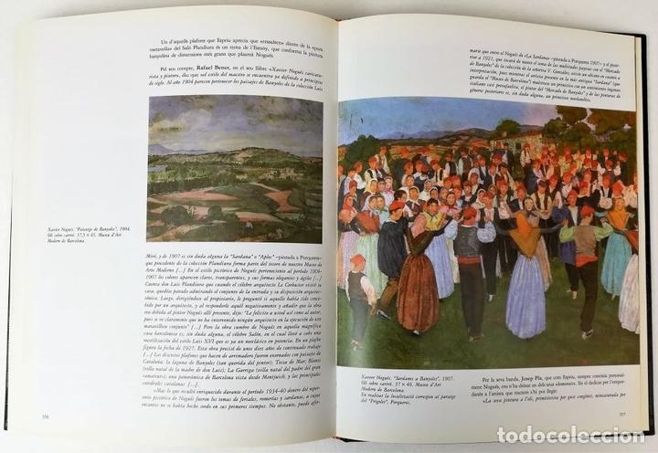 Libros de segunda mano: EL PINTOR PIGEM Y SU ÉPOCA EN LA COMARCA DE BAÑOLAS. VV. AA. EDIT. CARLES VALLÈS. BARCELONA 1987 - Foto 8 - 153309054