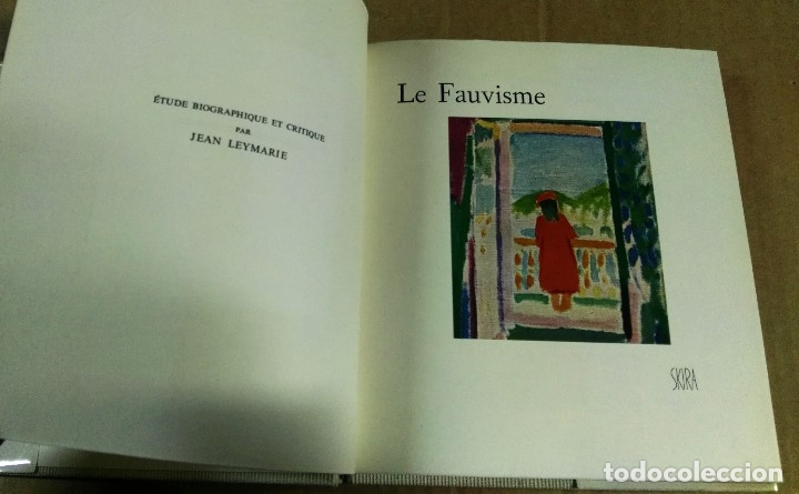 Libros de segunda mano: Jean Leimarie, Le Fauvisme, Skira, Geneve, 1959. Fauvismo - Foto 3 - 153377846