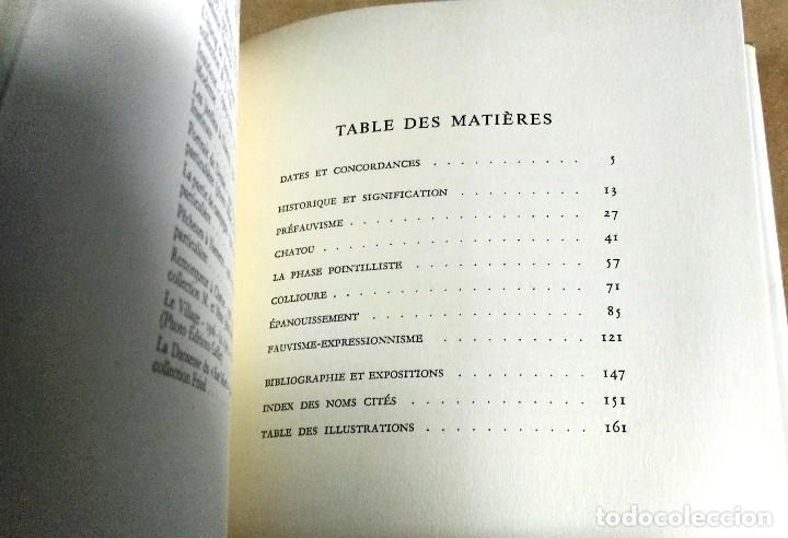 Libros de segunda mano: Jean Leimarie, Le Fauvisme, Skira, Geneve, 1959. Fauvismo - Foto 6 - 153377846