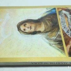 Libros de segunda mano: REGINA MARTIRUM GOYA / BANCO ZARAGOZANO 1982 / GOYA Y LA RELIGIOSIDAD POPULAR / EDUARDO TORRA. Lote 188595783