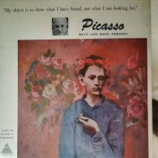 Libros de segunda mano: PICASSO, BLUE AND ROSE PERIODS. Lote 153574750