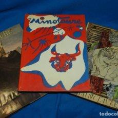 Libros de segunda mano: (MF) MINOTAURE 1933 1934-1936 1936-1939 3/3 VOLUMENES , EDT D'ART ALBERT SKIRA 1981. Lote 153697962