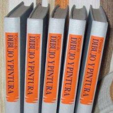 Libros de segunda mano: CURSO DE DIBUJO Y PINTURA - COMPLETO - CURSOS PROFESIONALES PLANETA-AGOSTINI - VER INDICES Y FOTOS. Lote 153920378