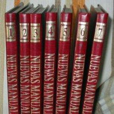 Libros de segunda mano: NUEVAS MANUALIDADES - NUEVAS IDEAS, TÉCNICAS Y MATERIALES - COMPLETA - VER INDICES Y FOTOS. Lote 153922402