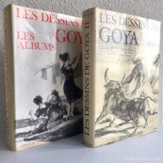 Libros de segunda mano: LES DESSINS DE GOYA. VOL. I Y II. PIERRE GASSIER, 1975 - DIBUJOS DE GOYA. Lote 154381068