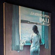 Libros de segunda mano: LOS GENIOS DE LA PINTURA. DALI. BIBLIOTECA SARPE. MADRID 1979.. Lote 154635158