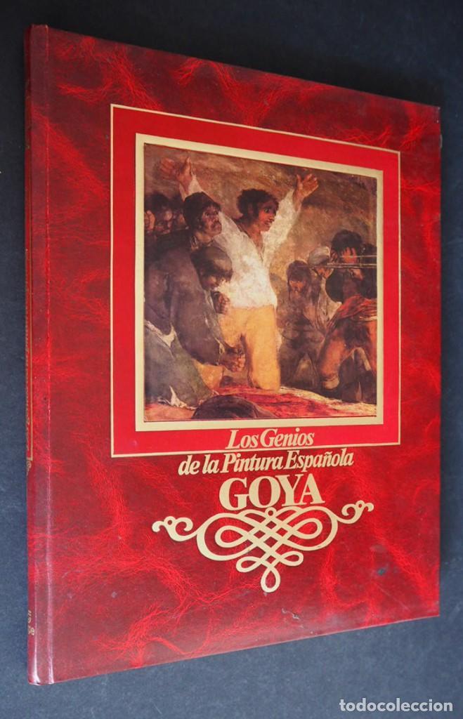 LOS GENIOS DE LA PINTURA ESPAÑOLA. GOYA. EDITORIAL SARPE. 1983. (Libros de Segunda Mano - Bellas artes, ocio y coleccionismo - Pintura)