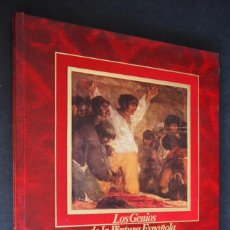 Libros de segunda mano: LOS GENIOS DE LA PINTURA ESPAÑOLA. GOYA. EDITORIAL SARPE. 1983.. Lote 154637790