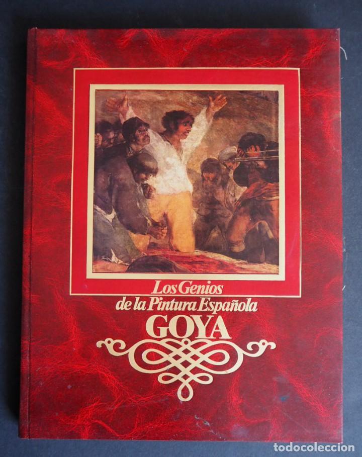 Libros de segunda mano: LOS GENIOS DE LA PINTURA ESPAÑOLA. GOYA. EDITORIAL SARPE. 1983. - Foto 2 - 154637790