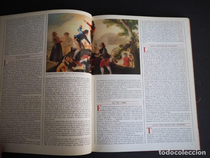 Libros de segunda mano: LOS GENIOS DE LA PINTURA ESPAÑOLA. GOYA. EDITORIAL SARPE. 1983. - Foto 4 - 154637790