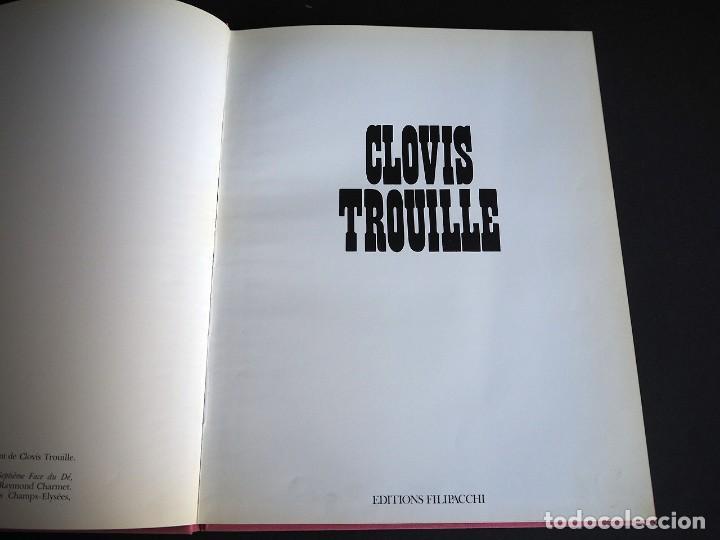 Libros de segunda mano: CLOVIS TROUILLE. EDITIONS FILIPACCHI. PARIS. 1972. COMENTARIOS DE LAS OBRAS DE CLOVIS TROUILLE. - Foto 5 - 154773378