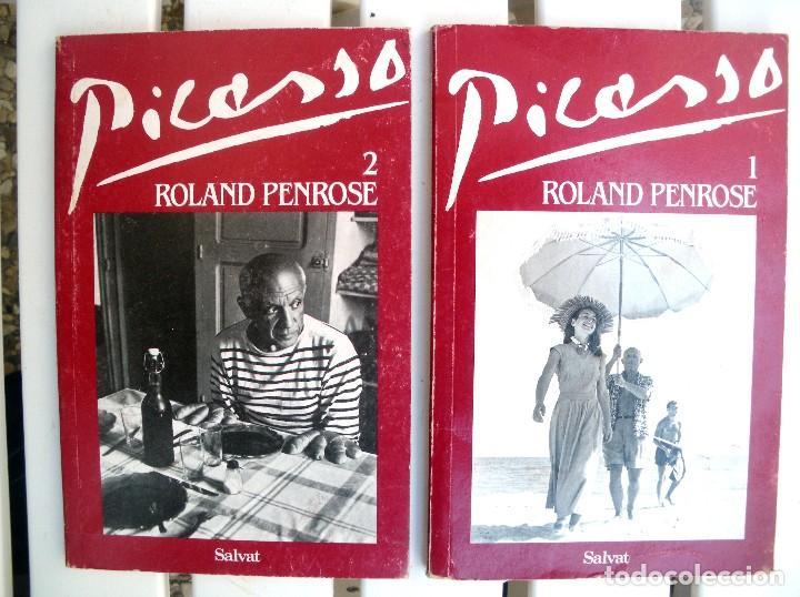 PCASSO, 2 TOMOS POR ROLAND PENROSE (Libros de Segunda Mano - Bellas artes, ocio y coleccionismo - Pintura)
