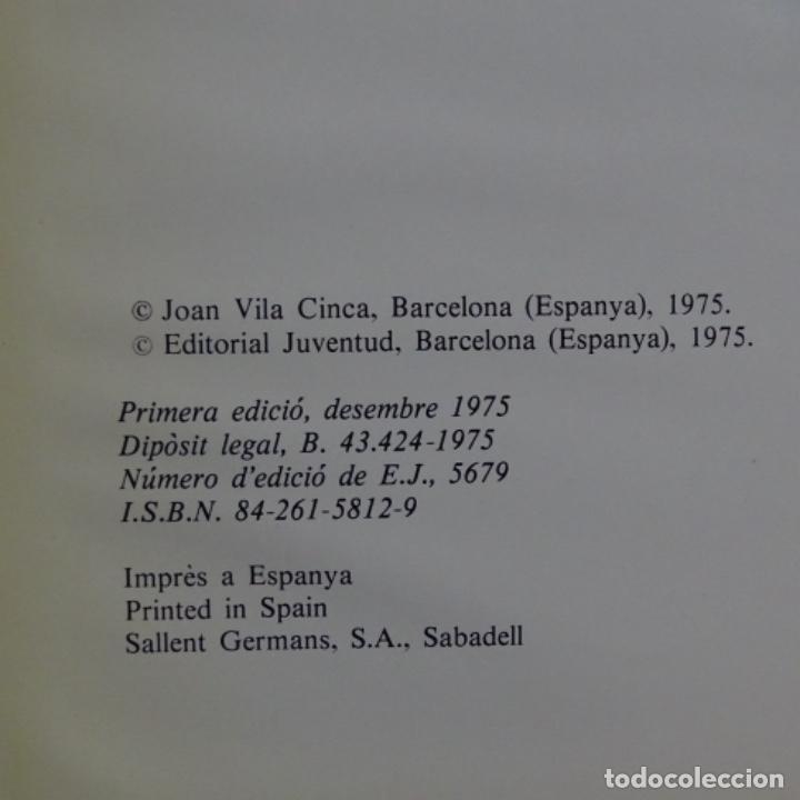 Libros de segunda mano: Libro Joan vila cinca.1975.101 páginas. - Foto 2 - 155697410