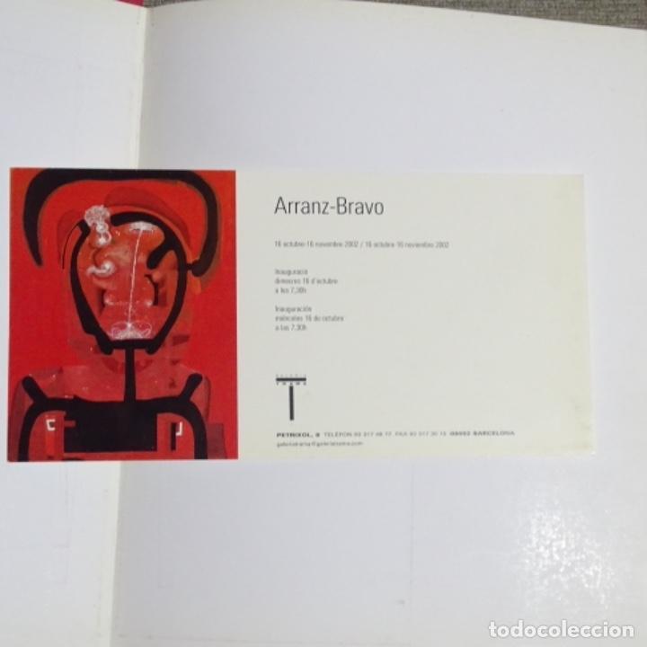 Libros de segunda mano: Libro e invitación de arranz-Bravo.2002.galeria trama. - Foto 2 - 155704318