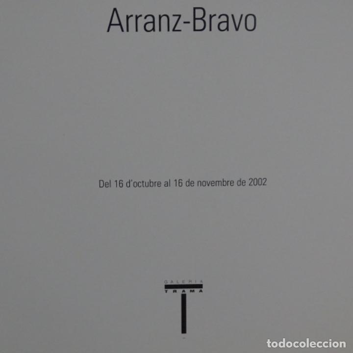 Libros de segunda mano: Libro e invitación de arranz-Bravo.2002.galeria trama. - Foto 3 - 155704318