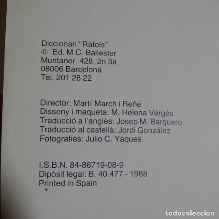 Libros de segunda mano: Libro vergesGrau.l'expresio amb ceres.diccionari rafols.80 páginas. - Foto 2 - 155708918