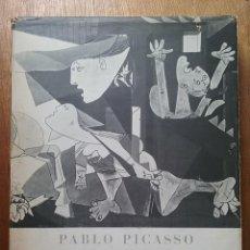 Libros de segunda mano: GUERNICA, PABLO PICASSO, TEXTOS DE JUAN LARREA, LAMINA NUMERADA, CUADERNOS PARA EL DIALOGO EDICUSA. Lote 155795926