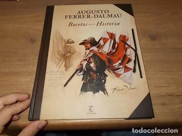 Libros de segunda mano: AUGUSTO FERRER-DALMAU. BOCETOS PARA LA HISTORIA. EDITORIAL PLANETA-ESPASA. 1ª EDICIÓN 2018. FOTOS - Foto 2 - 155869022