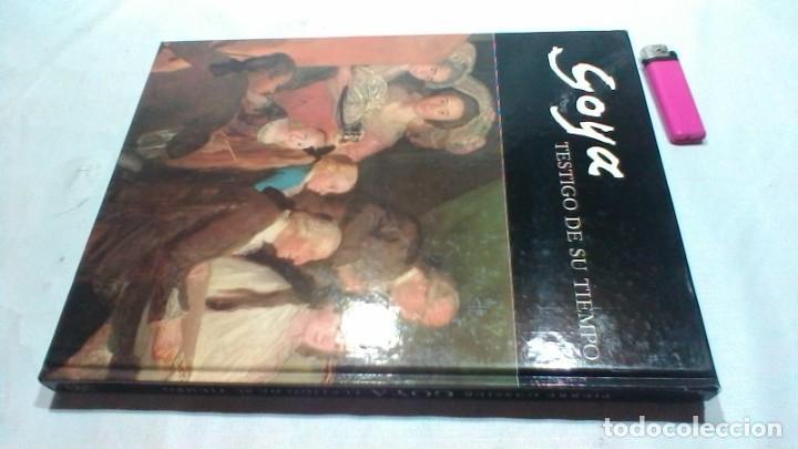Libros de segunda mano: GOYA TESTIGO DE SU TIEMPO/ PIERRE GASSIER/ EDICIONES ARTE BIBLIOGRAFIA/ / D604 - Foto 2 - 156032286
