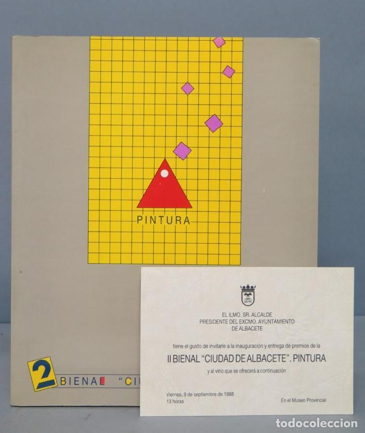 2 BIENAL CIUDAD DE ALBACETE PINTURA (Libros de Segunda Mano - Bellas artes, ocio y coleccionismo - Pintura)