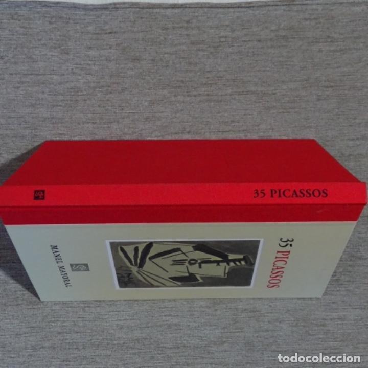 Libros de segunda mano: Libro 35 picassos.manel mayoral.barcelona 2008.como nuevo.123 páginas. - Foto 2 - 156366506