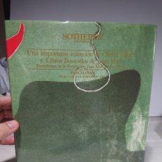 Libros de segunda mano: LIBRO CATÁLOGO SOTHEBYS, JOAN MIRÓ, 1989. Lote 156825426