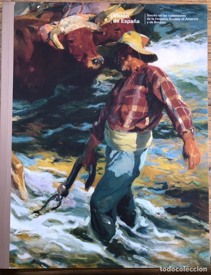 PINTOR JOAQUIN SOROLLA. VISIÓN DE ESPAÑA. HISPANIC SOCIETY OF AMERICA Y BANCAJA (Libros de Segunda Mano - Bellas artes, ocio y coleccionismo - Pintura)