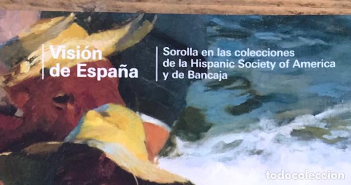 Libros de segunda mano: Pintor Joaquin Sorolla. Visión de España. Hispanic Society of America y Bancaja - Foto 2 - 212542623