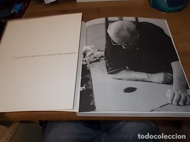 10 ANYS TALLERS D'OBRA GRÀFICA FUNDACIÓ PILAR I JOAN MIRÓ. CASAL SOLLERIC. AJUNTAMENT DE PALMA. 2004 (Libros de Segunda Mano - Bellas artes, ocio y coleccionismo - Pintura)
