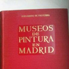 Libros de segunda mano: MUSEOS DE PINTURA EN MADRID. Lote 157978706