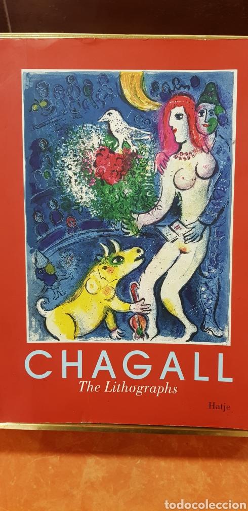 MARC GHAGALL,THE LITOGRAPHS. (Libros de Segunda Mano - Bellas artes, ocio y coleccionismo - Pintura)