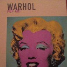 Libros de segunda mano: WARHOL--POP ART. Lote 158320538