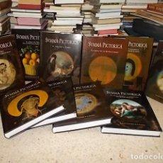 Libros de segunda mano: SUMMA PICTÓRICA. HISTORIA UNIVERSAL DE LA PINTURA. 10 TOMOS( COMPLETO). ED. PLANETA. 2004. UNA JOYA!. Lote 158372550