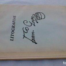 Libros de segunda mano: FRAN. GOYA LITOGRAFÍAS - OCTAVIO FELEZ - HUECO OFFSET - 1978. Lote 158422078