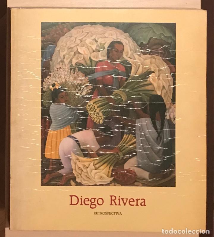 DIEGO RIVERA. RETROSPECTIVA - 0303 (Libros de Segunda Mano - Bellas artes, ocio y coleccionismo - Pintura)