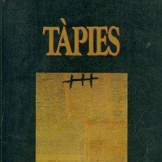 Libros de segunda mano: TÁPIES. Lote 158842334