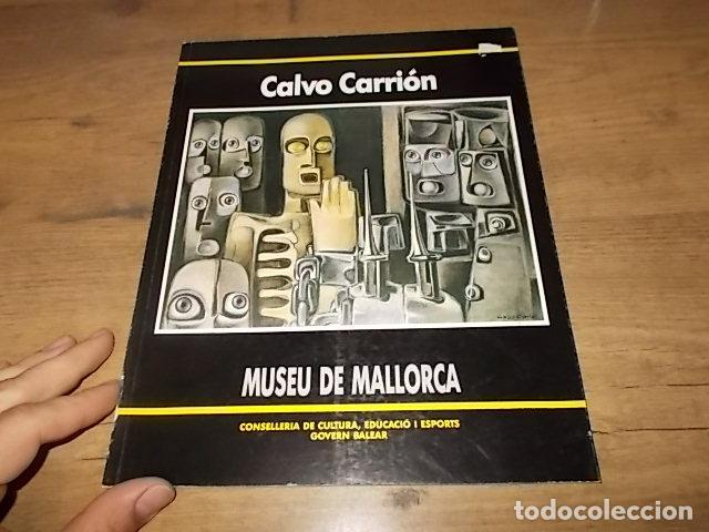 Libros de segunda mano: ANTONIO CALVO CARRIÓN. MUSEU DE MALLORCA. GOVERN BALEAR. 1ª EDICIÓ 1990. VEURE FOTOS. - Foto 2 - 159379686