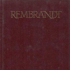 Libros de segunda mano: REMBRANDT. JOSEPH EMILE MULLER. Lote 159553974