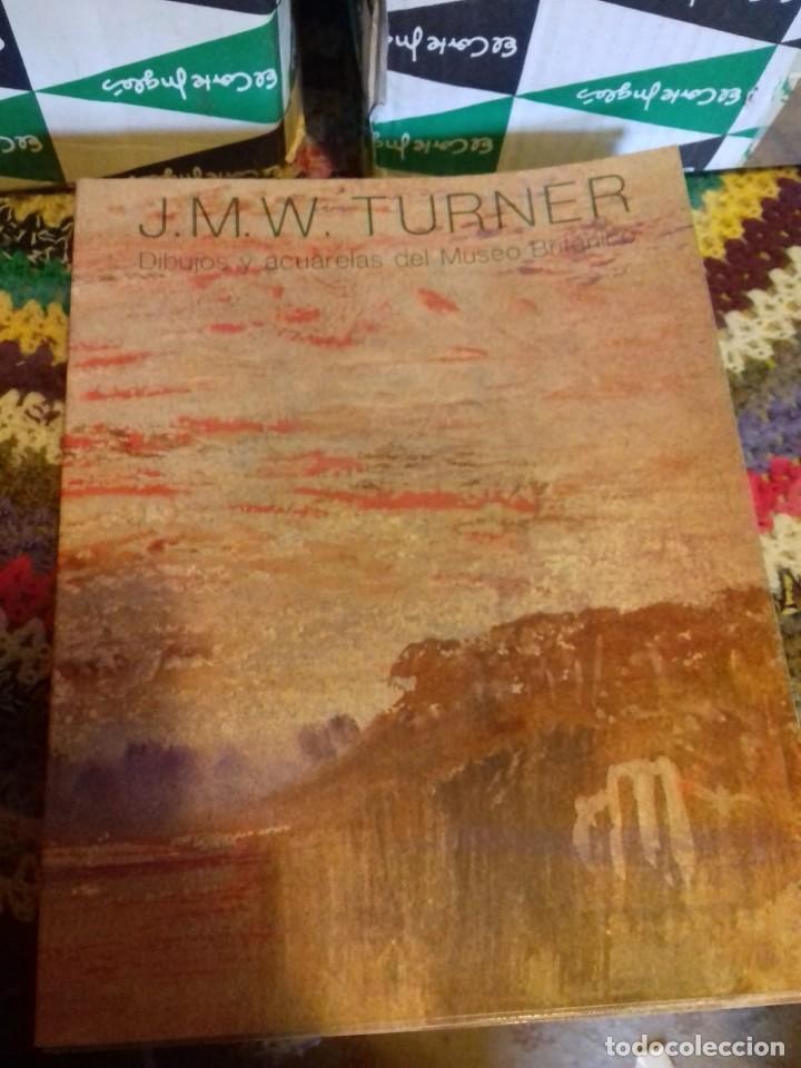 LOTE DE 25 LIBROS -J.M.W. TURNER. DIBUJOS Y ACUARELAS DEL MUSEO BRITANICO (ENVIO GRATIS EN ESPAÑA ) (Libros de Segunda Mano - Bellas artes, ocio y coleccionismo - Pintura)