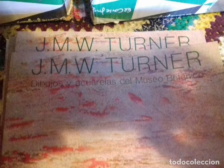 Libros de segunda mano: LOTE DE 25 LIBROS -J.M.W. TURNER. DIBUJOS Y ACUARELAS DEL MUSEO BRITANICO (ENVIO GRATIS EN ESPAÑA ) - Foto 3 - 159816750