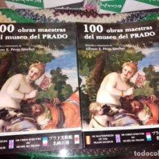 Libros de segunda mano: LOTE 10 LIBROS DE 100 OBRAS MAESTRAS DEL MUSEO DEL PRADO (ENVIO GRATIS EN ESPAÑA). Lote 159817370