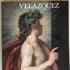 Libros de segunda mano: VELAZQUEZ- CATALOGO MONUMENTAL EXPOSICION MUSEO DEL PRADO 1.990. Lote 213612752