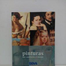 Libros de segunda mano: PINTURAS QUE CAMBIARON EL MUNDO - DE LASCAUX A PICASSO - KLAUS REICHOLD Y BERNHARD GRAF- ELECTA-BBVA. Lote 160819962