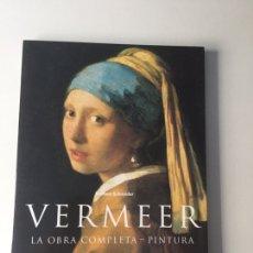 Libros de segunda mano: VERMEER. LA OBRA COMPLETA -PINTURA NORBERT SCHNEIDER. TASCHEN. Lote 161342642