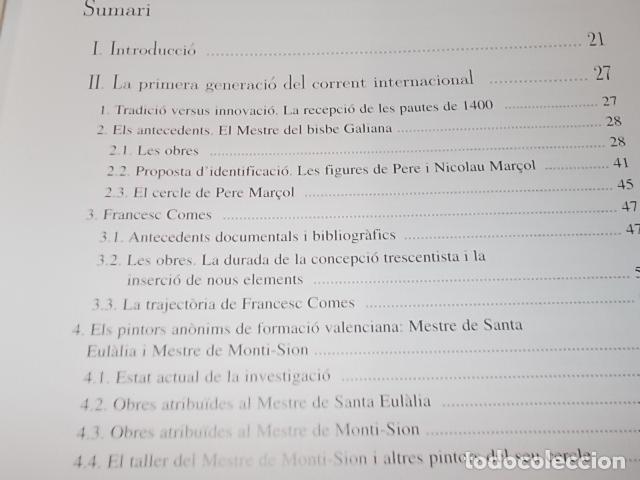 Libros de segunda mano: LA PINTURA MALLORQUINA DEL SEGLE XV. TINA SABATER . 1ª EDICIÓ 2002. MALLORCA - Foto 4 - 161447530