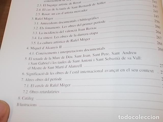 Libros de segunda mano: LA PINTURA MALLORQUINA DEL SEGLE XV. TINA SABATER . 1ª EDICIÓ 2002. MALLORCA - Foto 7 - 161447530