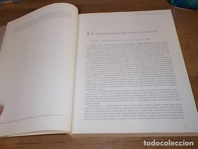 Libros de segunda mano: LA PINTURA MALLORQUINA DEL SEGLE XV. TINA SABATER . 1ª EDICIÓ 2002. MALLORCA - Foto 10 - 161447530