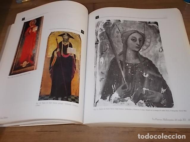 Libros de segunda mano: LA PINTURA MALLORQUINA DEL SEGLE XV. TINA SABATER . 1ª EDICIÓ 2002. MALLORCA - Foto 15 - 161447530